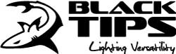 Logo Black Tips - merknaam van professionele LED werklampen